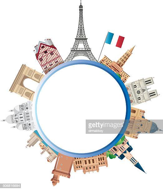 france travel - toulouse stock illustrations, clip art, cartoons, & icons