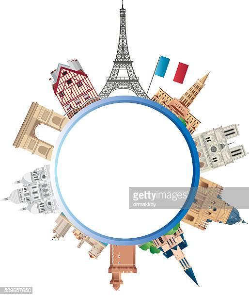 france travels - rouen stock illustrations, clip art, cartoons, & icons