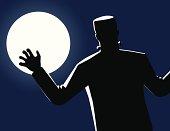 Frankenstein in the Moonlight