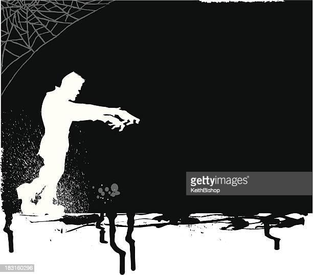 ilustrações de stock, clip art, desenhos animados e ícones de frankenstein monstro doce ou partida fundo - frankenstein