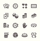 Free and premium gaming & gambling icons