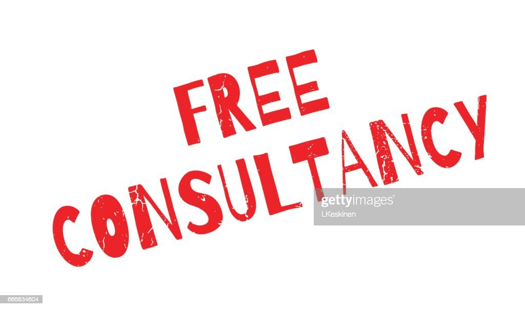 Free Consultancy rubber stamp