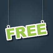 Free hanging label