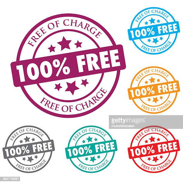 Free of charge colour stamps