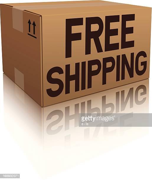 Free Shipping Box Icon