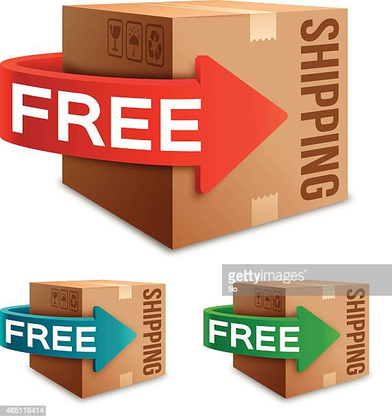 free shipping - free of charge stock illustrations