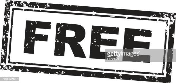 free stamp - freedom stock illustrations, clip art, cartoons, & icons