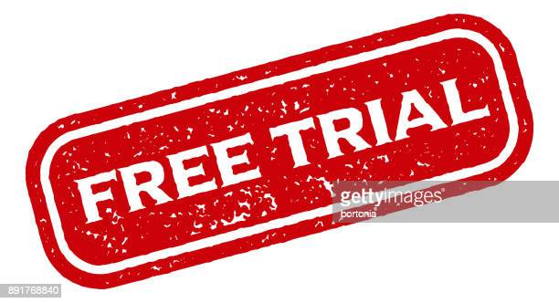 stockillustraties, clipart, cartoons en iconen met gratis trial rode rubber stempel pictogram op transparante achtergrond - foutmelding