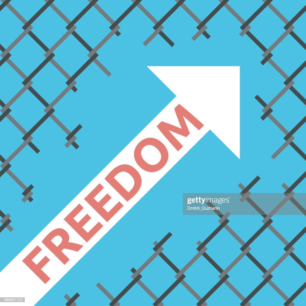 Freedom Arrow Wire Mesh Vector Art | Getty Images