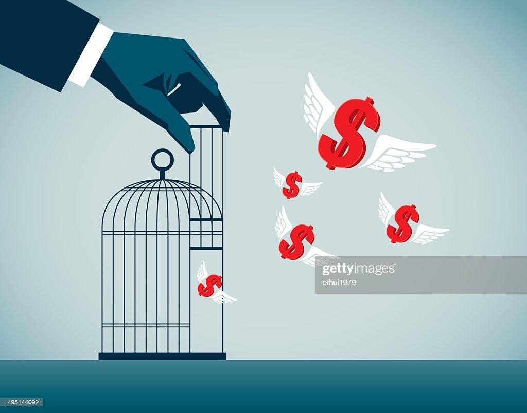 Freedom : stock illustration