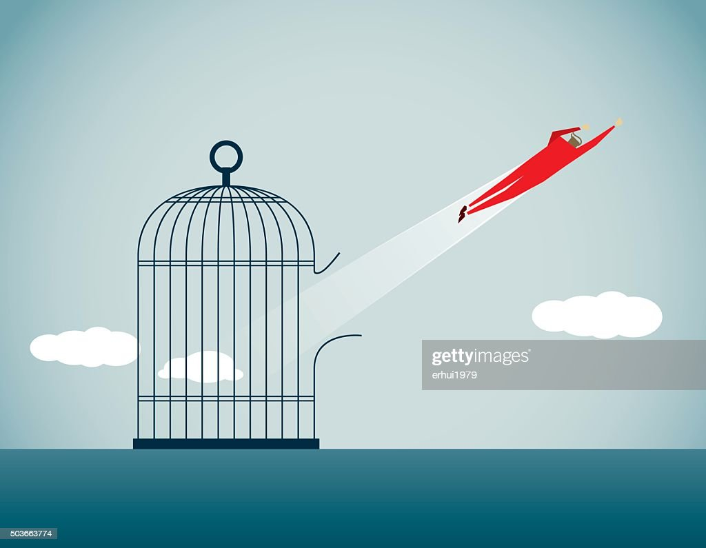 Freedom : stock illustration