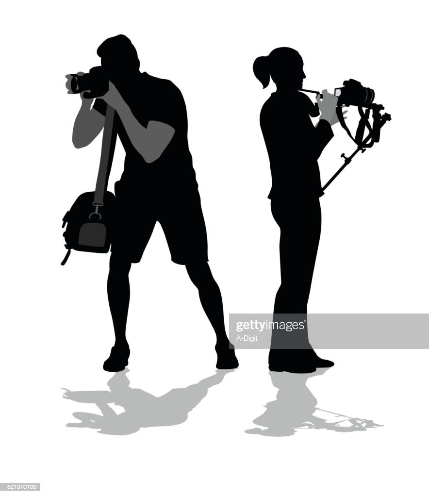 Freelancers And Photographers : stock illustration