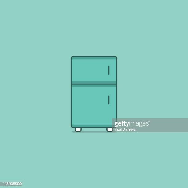 冷凍 庫 - 冷蔵庫点のイラスト素材/クリップアート素材/マンガ素材/アイコン素材