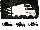 Freight Shipping royalty free vector Background