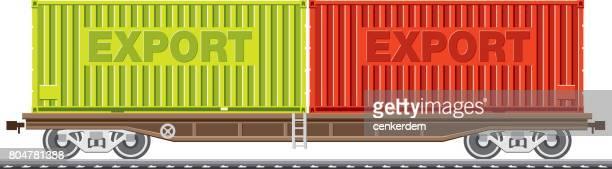 Freight train wagon
