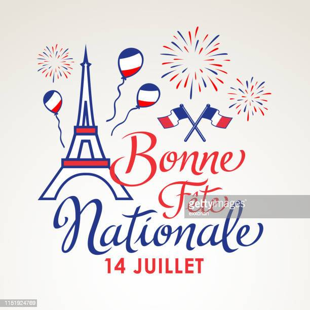 french national day celebration - national holiday stock illustrations