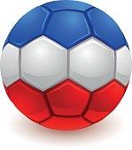 French soccer ball
