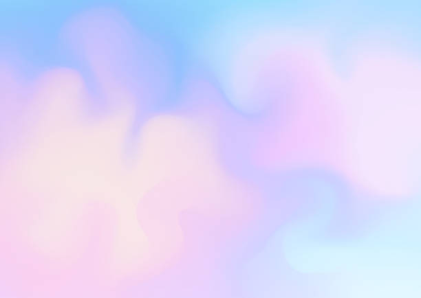 fresh abstract background in blue and pink colors. - pink stock illustrations