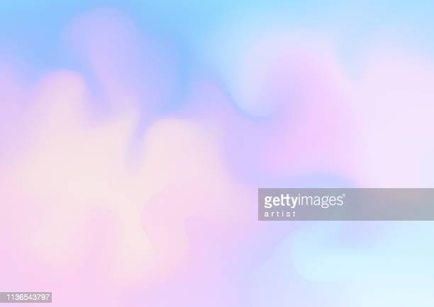 fresh abstract background in blue and pink colors. - cloud sky stock illustrations