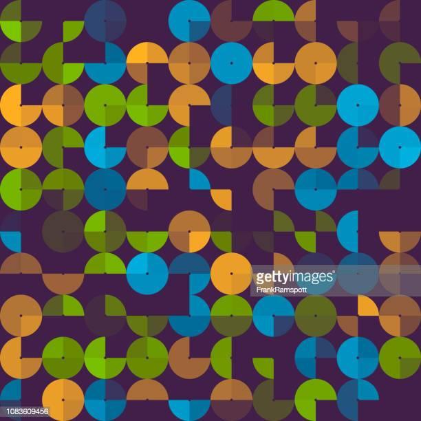 Frische abstrakt Design Kreismuster