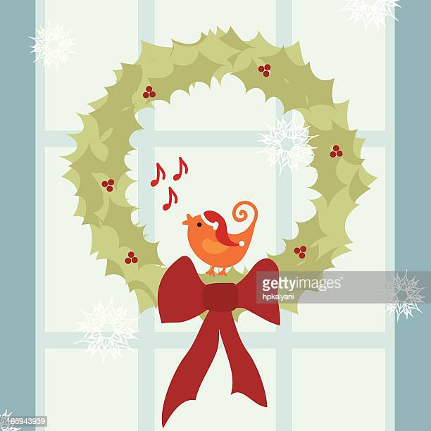 Christmas Decoration Creative Christmas Door M, PNG, 900x627px, Watercolor,  Cartoon, Flower, Frame, Heart Download Free