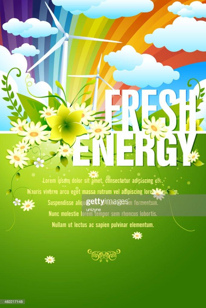 Fresh Energy Background