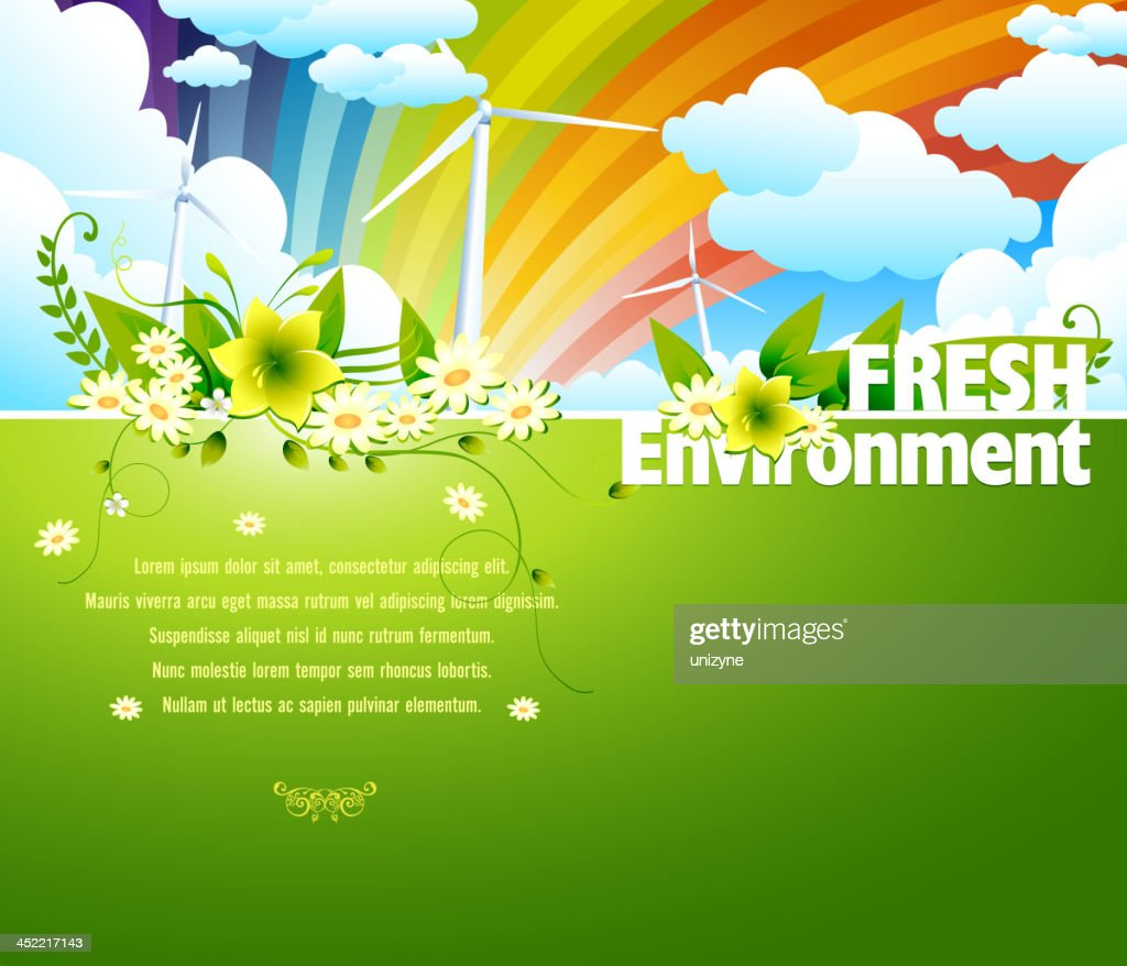 Fresh Environment Background