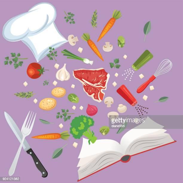30 Meilleurs Livre Cuisine Illustrations Cliparts Dessins