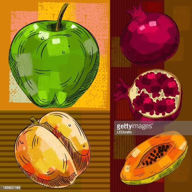 新鮮なフルーツ