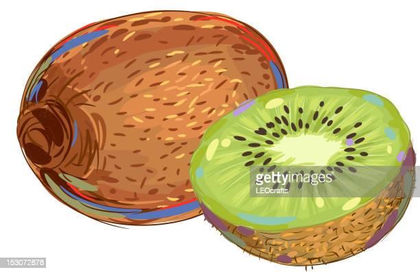 Frescos fruta Kiwi
