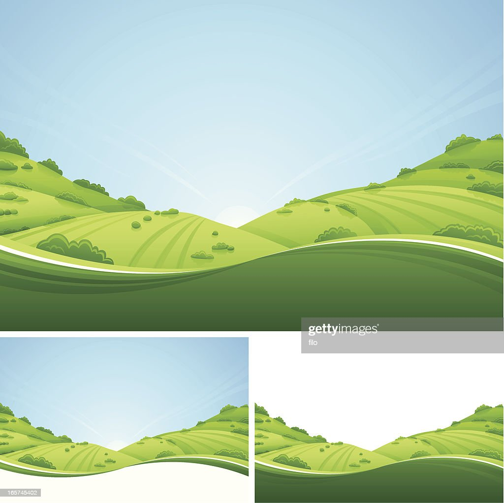 Fresh Landscape : stock illustration
