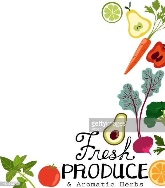 fresh produce - basil stock illustrations, clip art, cartoons, & icons