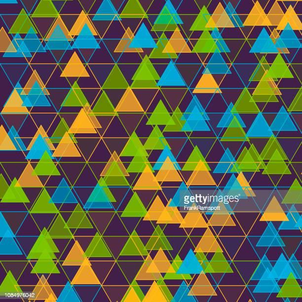Frische Dreieck-Vektor-Design-Pattern