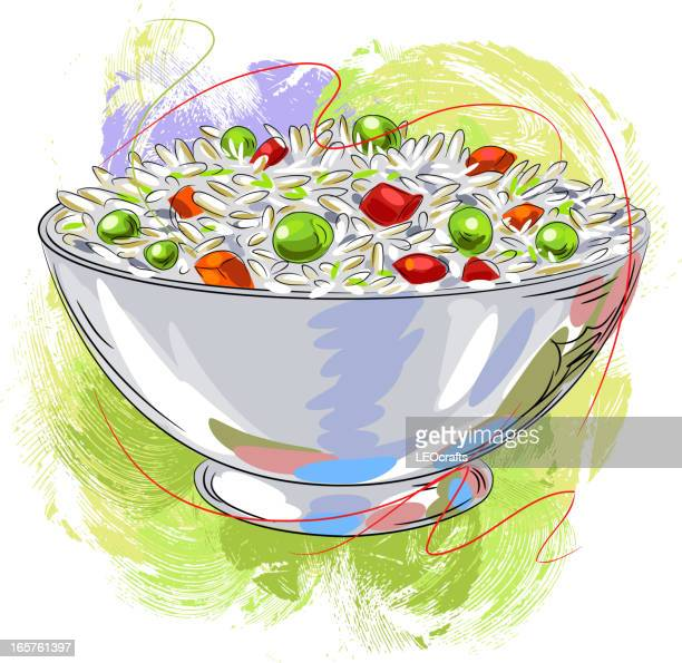 25 Fried Rice High Res Illustrations Getty Images