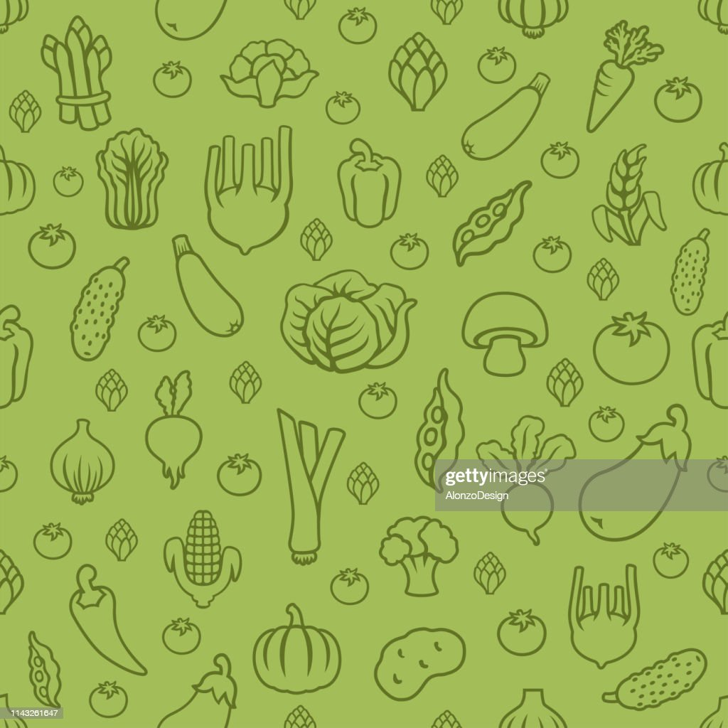 Fresh Vegetables Wallpaper Background High Res Vector Graphic Getty Images