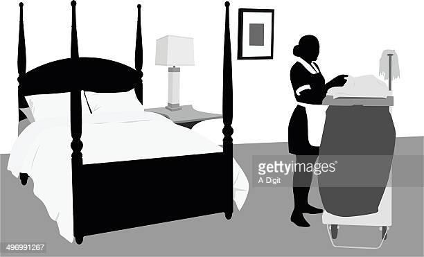 freshlinen - housework stock illustrations, clip art, cartoons, & icons