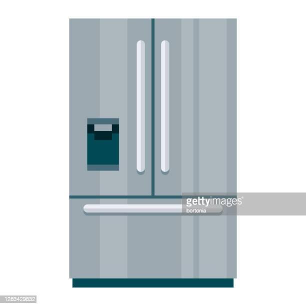 透明な背景の冷蔵庫アイコン - 冷蔵庫点のイラスト素材/クリップアート素材/マンガ素材/アイコン素材