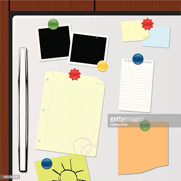 fridge magnets - magnet stock illustrations, clip art, cartoons, & icons