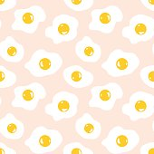 Fried egg background