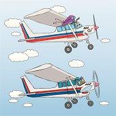 Friendly & Fierce Airplane
