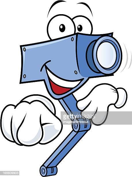 Friendly CCTV camera