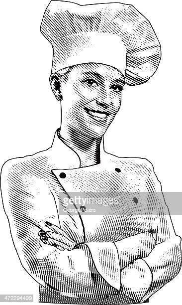 30 Meilleurs Tenue De Chef Cuisinier Illustrations Cliparts