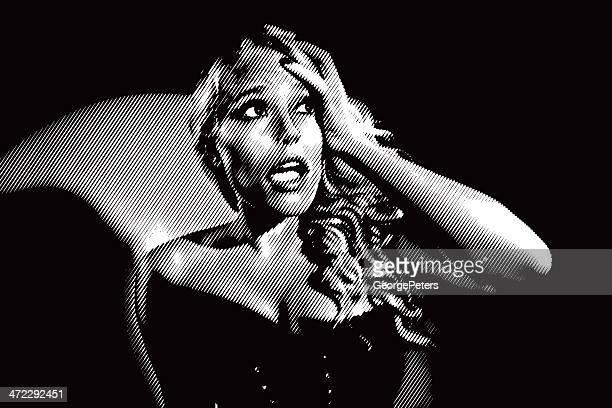 Medo de mulher Estilo Filme Noir