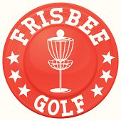 frisbee golf graphic