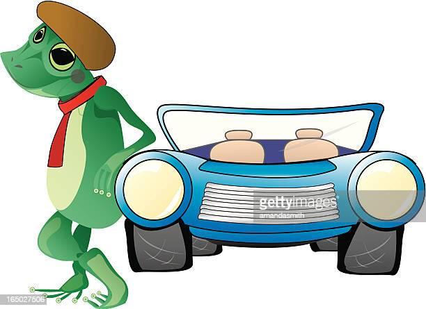 frog folly - webbed foot stock illustrations, clip art, cartoons, & icons