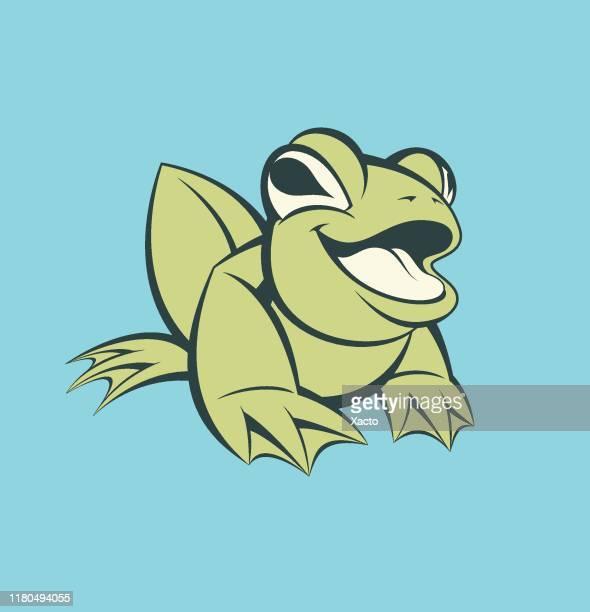 frog - naughty america stock illustrations