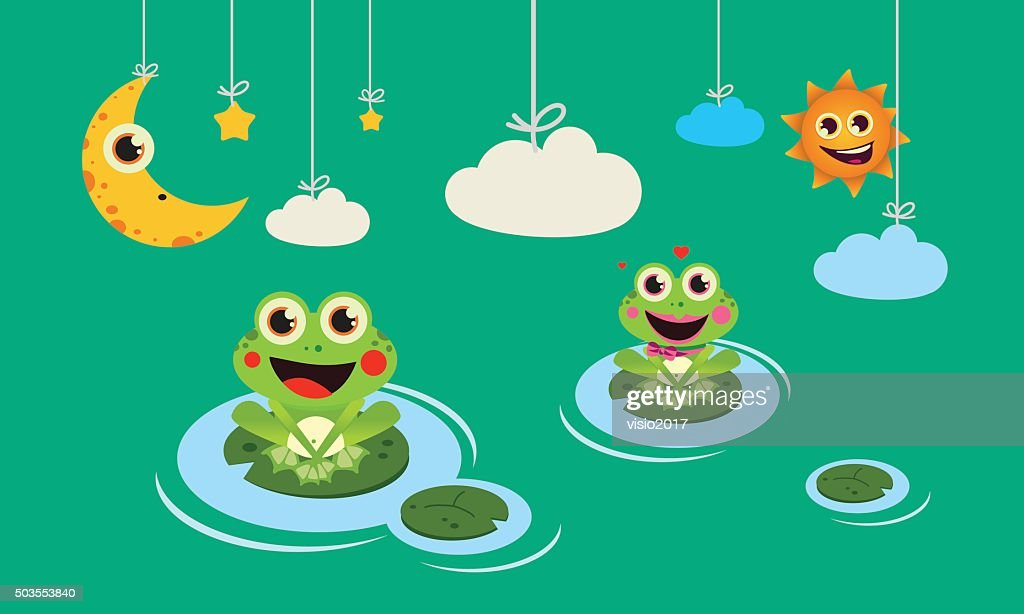 frogs night and day