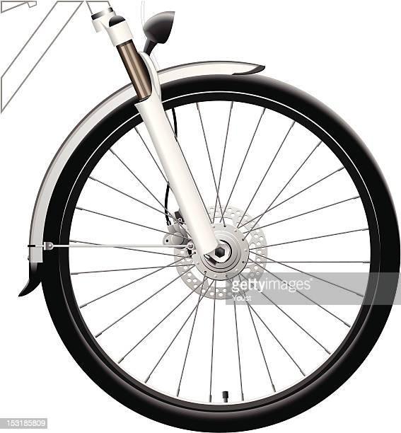 Front Bike Wheel with Dynamo Hub