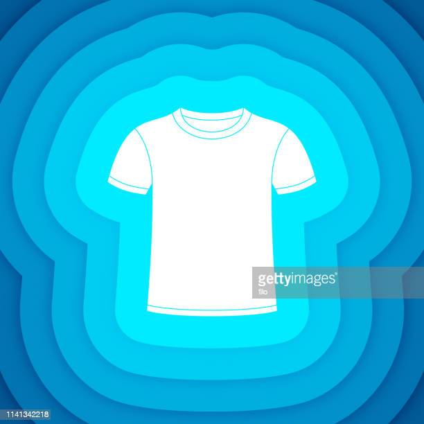 Front of T-Shirt Layered Display Design