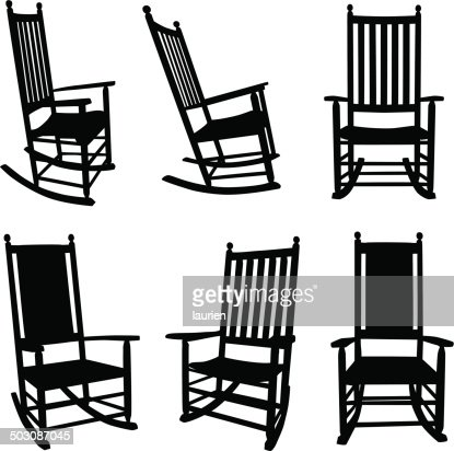 Front Porch Rocking Chairs Vector Art Getty Images